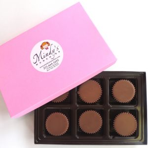 Buy 6 handmade Peanut Butter Cups made with real Peanut Butter for $13.